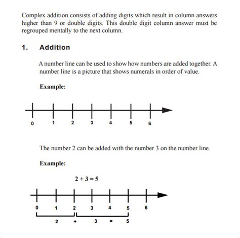 math templates free sle math worksheet 11 free documents in pdf word
