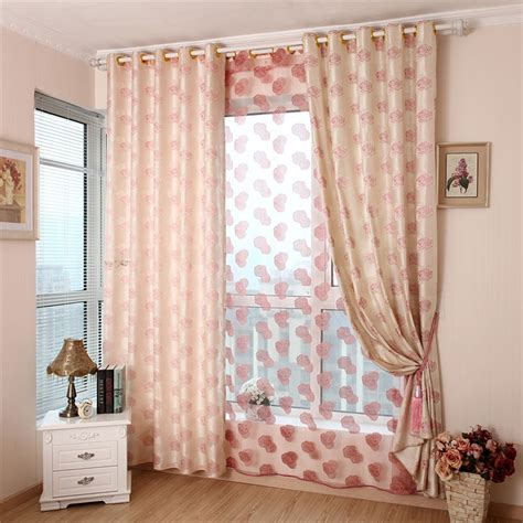 pink grey curtains aliexpress com buy luxury curtains for living room