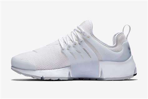 nike all white air presto sneakers 187 retail design
