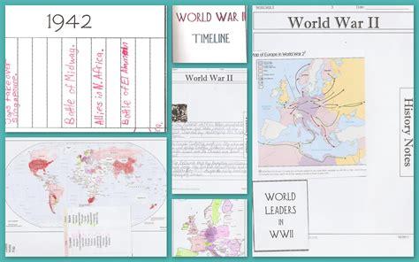 printable world war ii map world war ii notebook pages maps timelines online