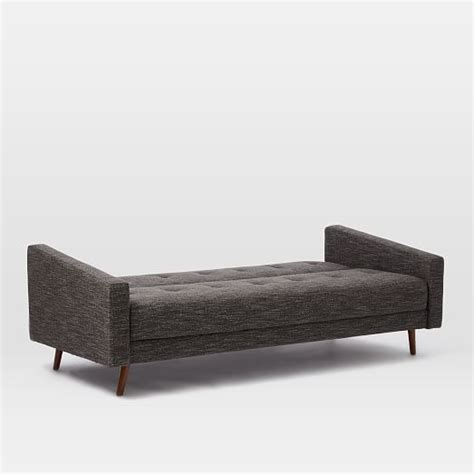 west elm futon sofa kiko futon sofa 82 quot west elm