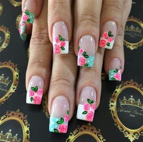 imagenes de uñas decoradas de ositos im 225 genes de u 241 as decoradas con flores im 225 genes