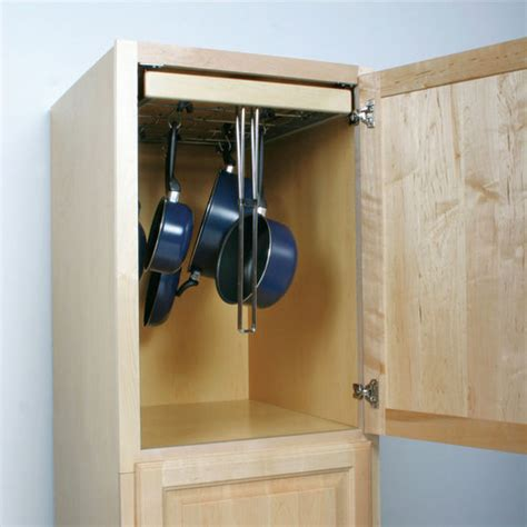 Pull Out Pot Rack by Knape Vogt Pot Pan Pantry Pull Out Cabinet Organizer