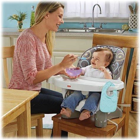 fisher price spacesaver high chair luminosity save  baby