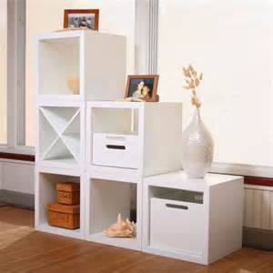 shelving units for small spaces black and white matrix storage cube collection