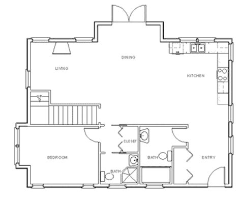 Home Floor Plans by Make Your Own Blueprint How To Draw Floor Plans