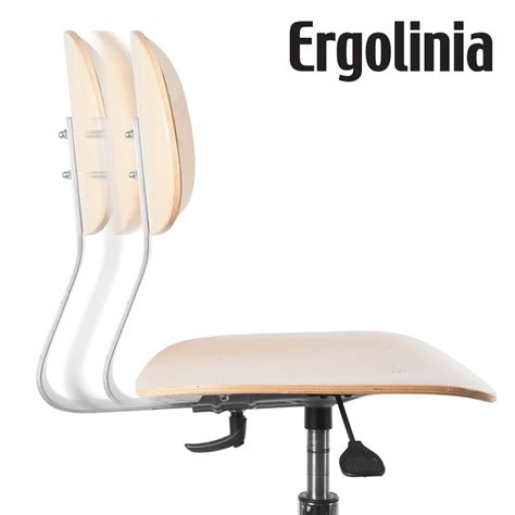 Rotary Chair by Ergolinia Evo4 Industrial Rotary Chair Plywood