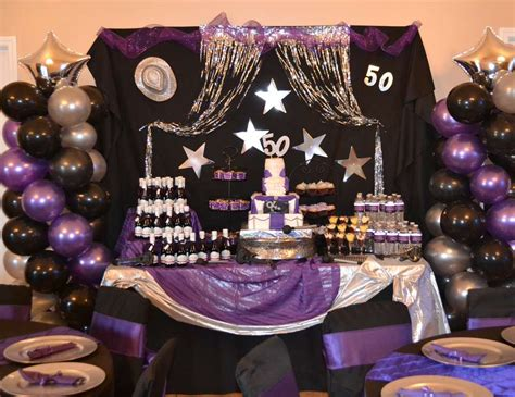 party themes for 50th birthday birthday quot purple rain 50th birthday bash quot purple rain