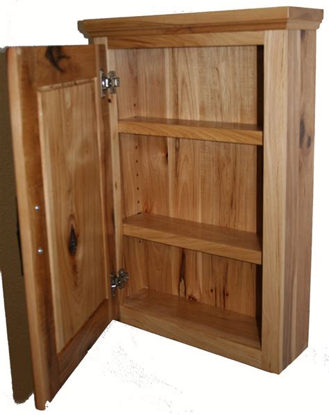 Rustic Hickory Medicine Cabinet ? Barn Wood Furniture