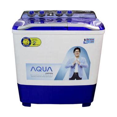 Cek Mesin Cuci Sanyo jual aqua sanyo qw1080xt series mesin cuci 2 tabung