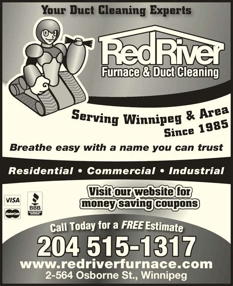 Commercial Kitchen Exhaust Cleaning Winnipeg River Furnace Duct Cleaning Opening Hours 2 564
