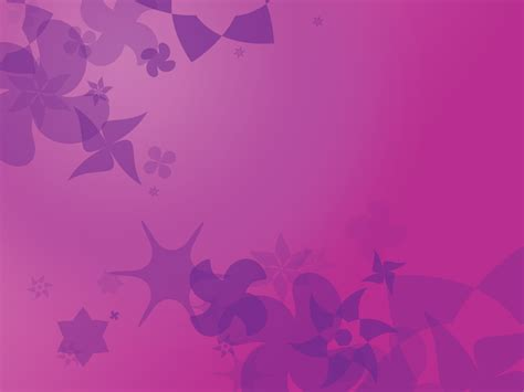 free purple background with stars and flowers backgrounds