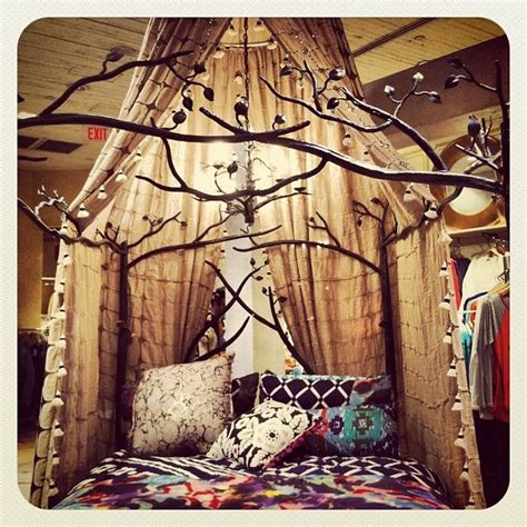 Forest Canopy Bed Frame Forest Canopy Bed Canopy Anthropologie And Bedrooms