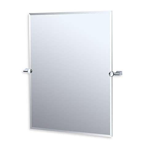 Tilting Bathroom Mirrors Buy Gatco Bleu Chrome Tilt Mirror From Bed Bath Beyond