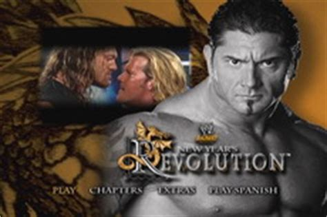 new year s revolution 2005 dvd talk review of the