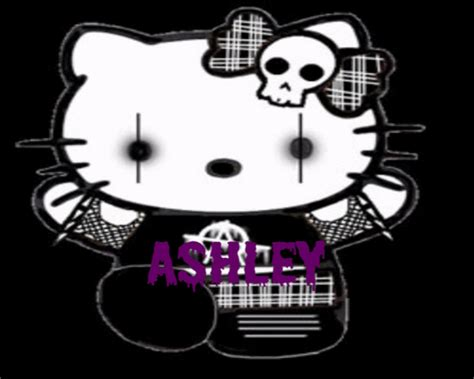 wallpaper hello kitty black and white hello kitty black backgrounds wallpaper cave