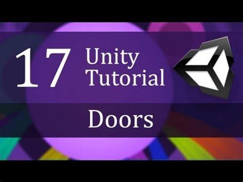unity tutorial brackeys 17 unity tutorial doors create a survival game youtube