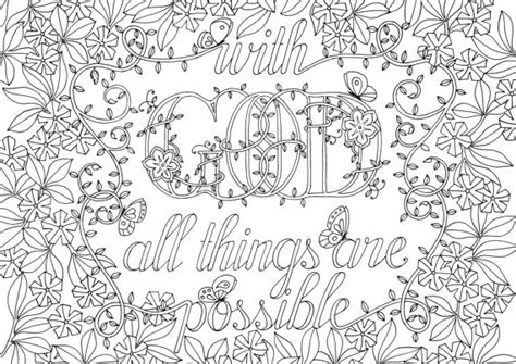 coloring pages for adults bible verses adult colouring page bible verse matthew by
