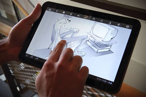 sketchbook pro on android tablet exclusive drawing app for artists debuts on android