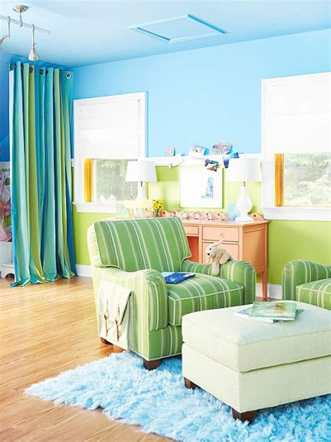decorating with color decorating design ideas 2012 with blue color