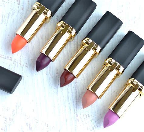 l oreal colour riche matte lipstick l or 233 al colour riche matte lipsticks review and swatches