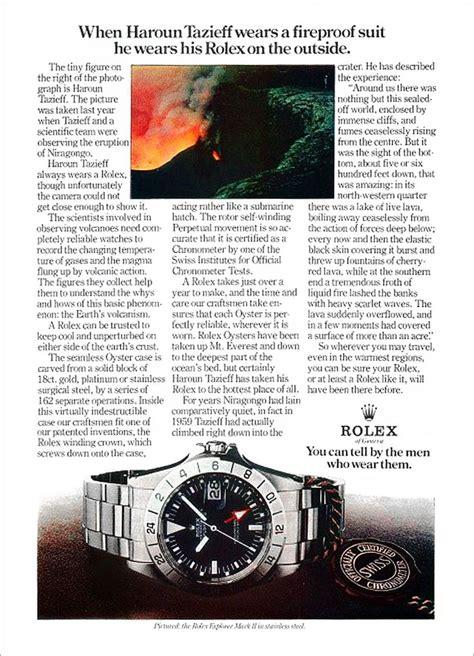rolex print ads 26 best rolex submariner magazine ads through time images