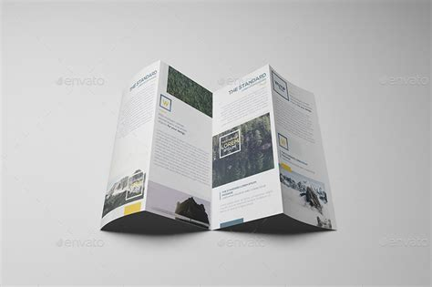 four fold brochure template four panel fold brochure mockups by wutip graphicriver