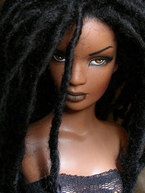 black doll hair with hair ask anu