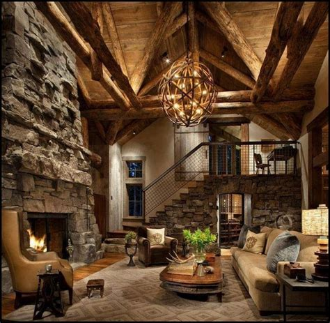 Small Cabin Living Room Ideas by Elevating Coffee Table Log Cabin Living Rooms Small Space
