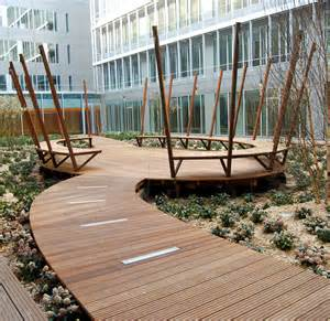 mobilier urbain bois collectivit 233 sle