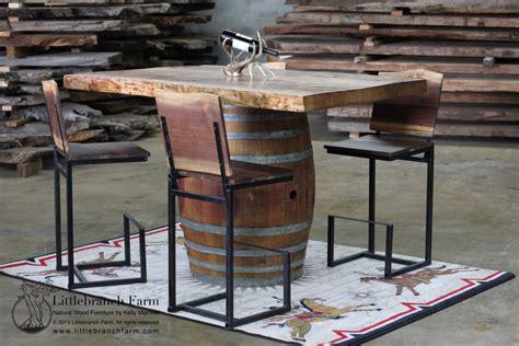 Kitchen Island Legs Metal Wine Barrel Furniture Ideas You Can Diy Or Buy 135 Photos