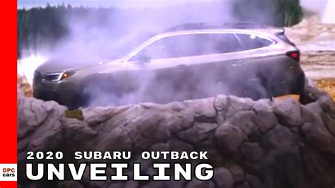 2020 Subaru Outback Unveiling by 2020 Subaru Outback Unveiling