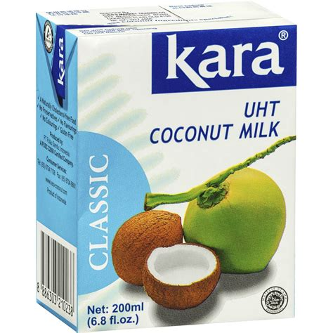 Kara Milk kara coconut milk 200ml woolworths