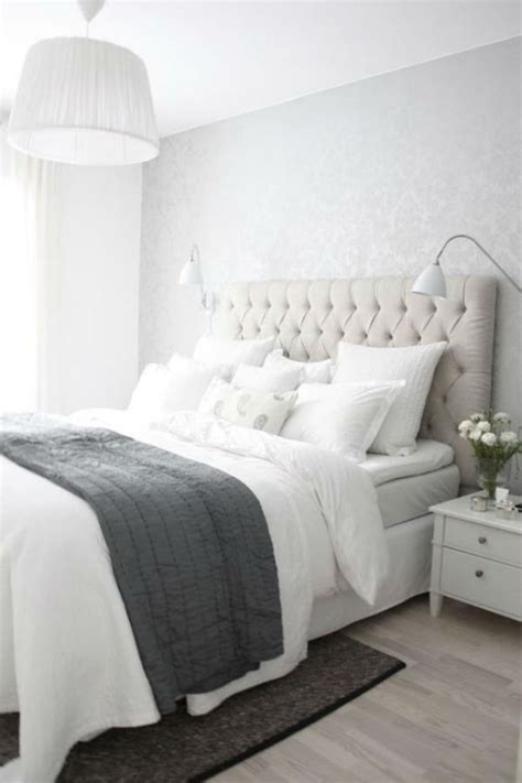 white and grey bedrooms grey and white bedroom inspiration