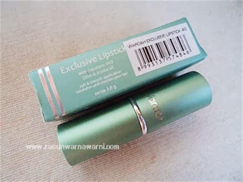 Lipstik Eksklusif Wardah racun warna warni wardah lipstick matte exclusive longlasting