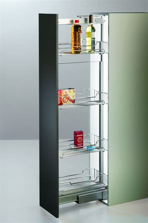 Pull Out Pantry Nz by Pull Out Pantry With Wire Baskets Kantek