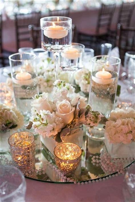 centrotavola con candele centrotavola per matrimoni addobbi floreali per