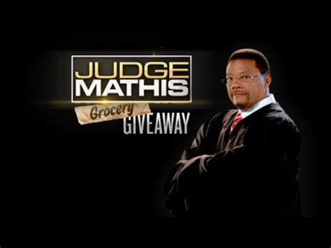 Judge Mathis Giveaway - judge mathis grocery giveaway youtube