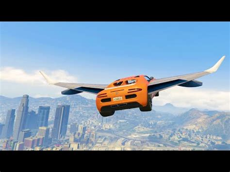 flying cars mod (gta 5 mods funny moments)