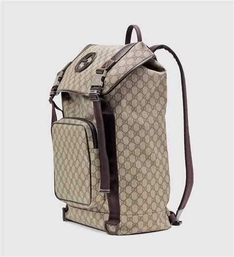 Backpack Gucci Gd 1 gucci gg supreme canvas interlocking g backpack in for lyst