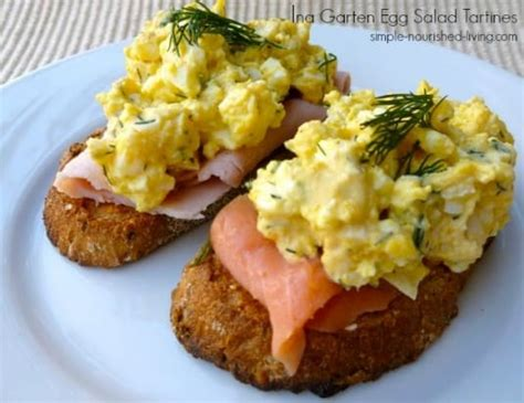 1000 images about ina garten recipes on pinterest ina ina garten egg salad tartines easy healthy weight