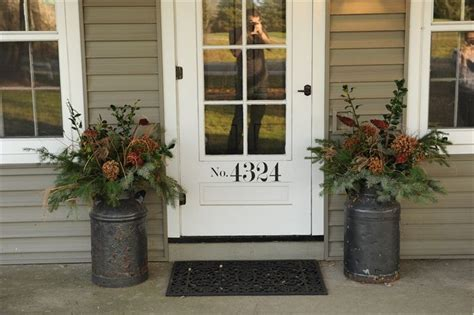 Milk Can Planter by Milk Can Planters Sidewalk Ready Porch Ideas Painted Houses Planters And