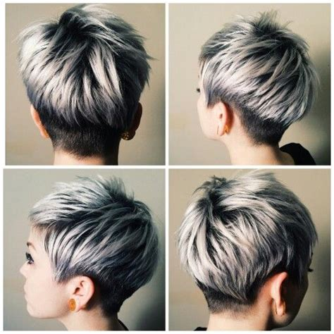 short hair frosted tips ponad 1000 obraz 243 w na temat short hair kr 243 tkie włosy na