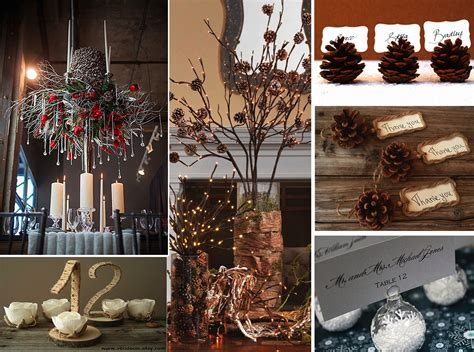 winter wedding table decorations winter wedding ideas getting married during the holidays