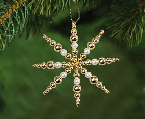 Weihnachtssterne Aus Perlen Basteln Anleitung by Perlensterne Set Wei 223 Gold Edumero De