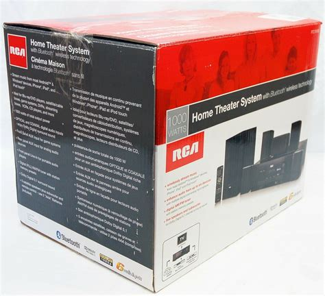 rca rtbe  bluetooth home theater system dolby