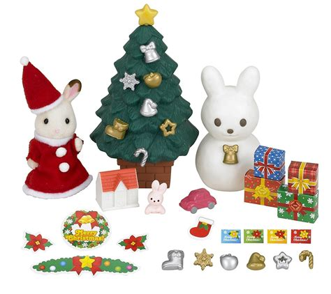 buy sylvanian families christmas set