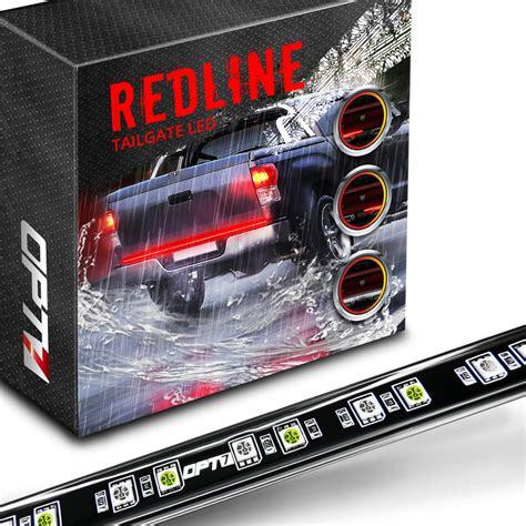 Rage Led Tailgate Light Bar Redline Led Tailgate Brake Light Bar With Opt7