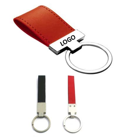 Leather Key Chain Pu pu leather keychain