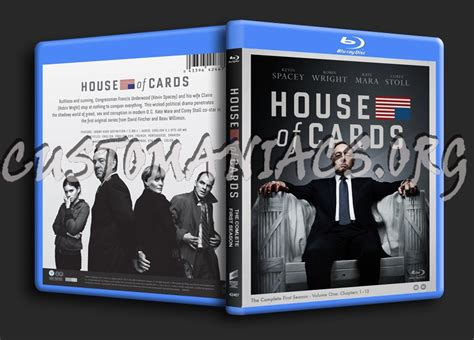 house of cards season 1 forum tv show scanned blu ray covers page 2 dvd covers labels by customaniacs